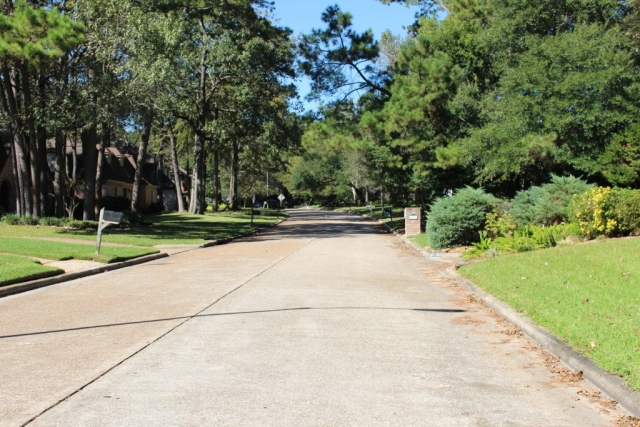 Quiet Bear Branch Neighborhood in Kingwood