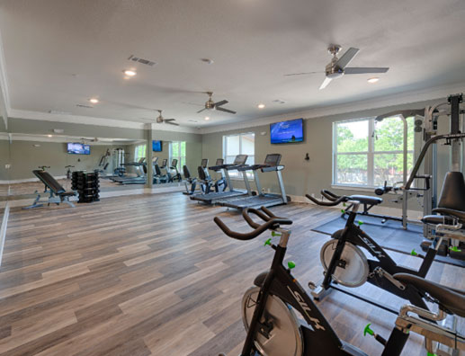 Ivy Point Kingwood Fitness Room